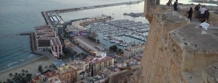 Castillo de Santa Barbara is one of Alicante urban treasures.