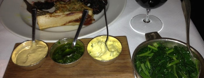 Hix Oyster and Chop House is one of Steak in London.