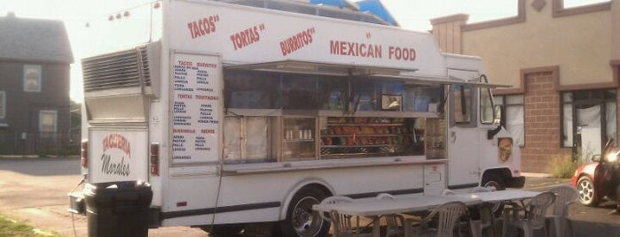 Taqueria Morales is one of Indy Food Trucks.