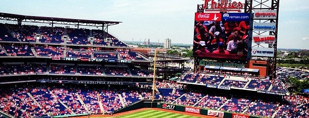 Citizens Bank Park is one of Ballparks.