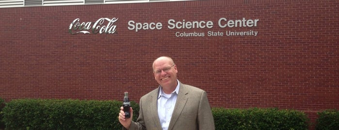 Coca-Cola Space Science Center is one of NASA.