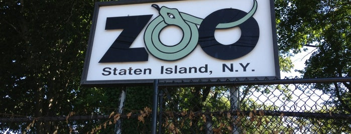 Staten Island Zoo is one of Wi-Fi in NYC Parks.