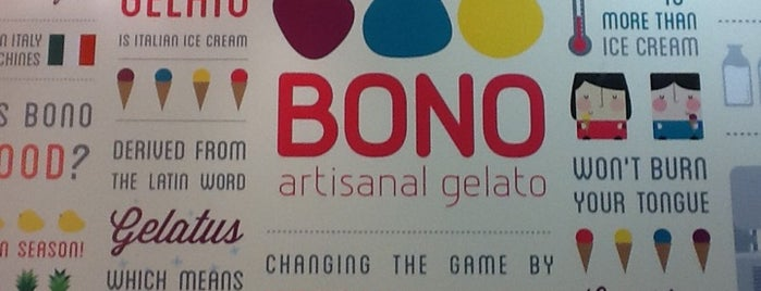 Bono Artisanal Gelato is one of Need to eat.