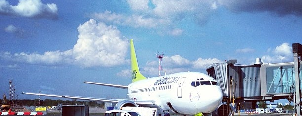 Riga International Airport / Starptautiskā lidosta Rīga (RIX) is one of Мой.
