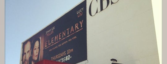 CBS Television City Studios is one of I'm in L.A. you trick!.