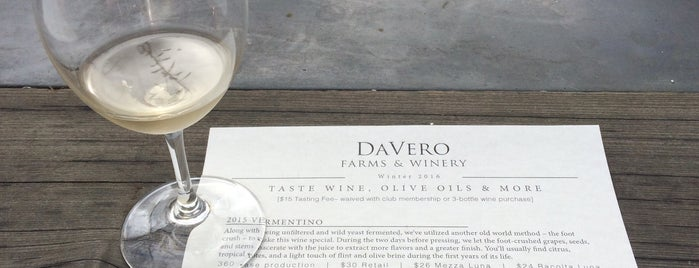 DaVero Winery And Farmstand is one of Gorgeous, Burgeoning Wine Road Gardens.