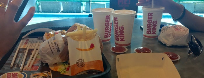 Burger King is one of F&B.