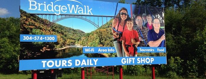 Bridge Walk is one of W.V..