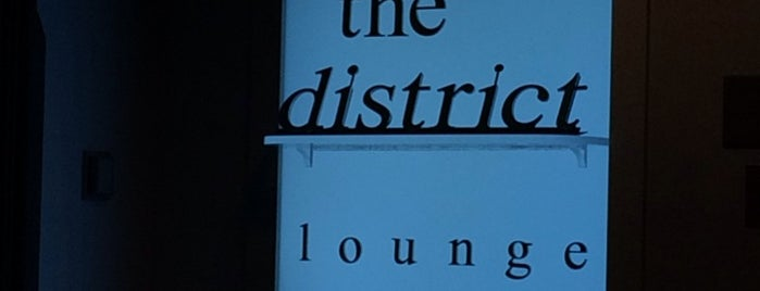 The District Lounge is one of Booze on the Ave.