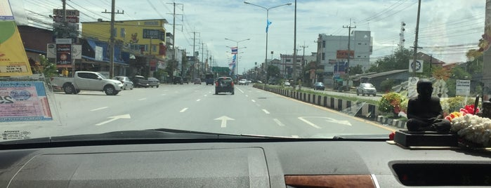 Kamphaeng Saen District is one of ถนน.
