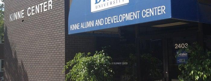 Kinne Alumni and Development Center is one of Drake University.