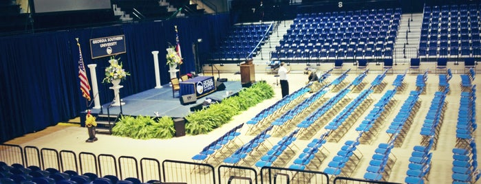 Hanner Fieldhouse is one of A Not So Tourist Guide to Statesboro, GA.