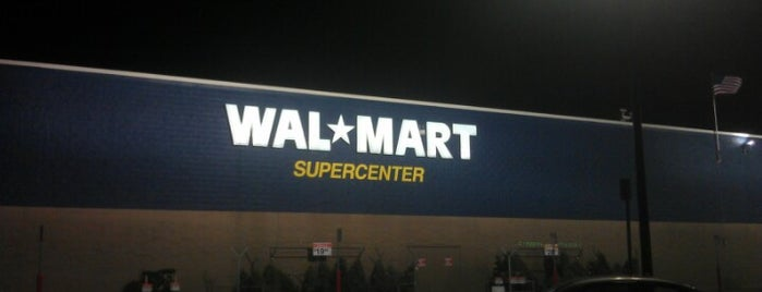 Walmart Supercenter is one of Out Late.