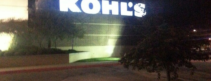 Kohl's is one of Black Friday 2011.