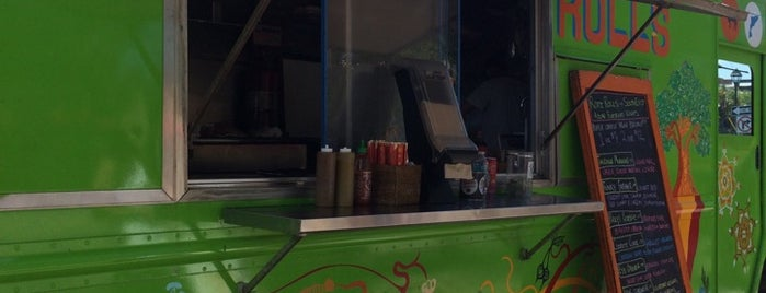 Roti Rolls Food Truck is one of my charleston places.