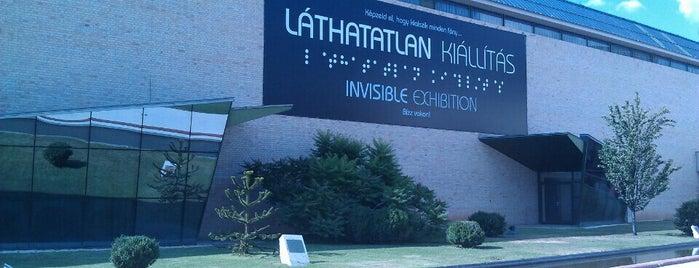 Láthatatlan Kiállítás is one of Budapest Sightseeing.