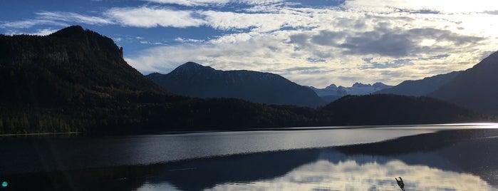 Altausseer See is one of das schwimmwasser.