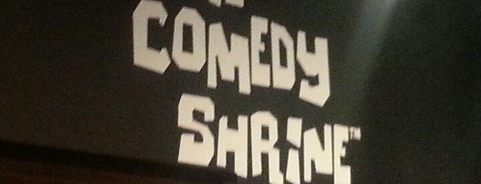 The Comedy Shrine Theater is one of North Central College.