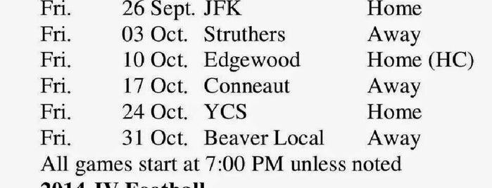 Brookfield Football Field is one of Jennifer's tips.