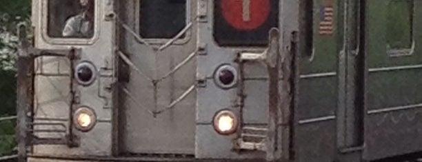 MTA Subway - 1 Train is one of NY - MTA Subway Trains.