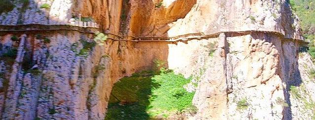 El Caminito del Rey is one of Ardales.