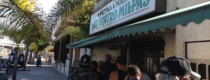Las Cuatro Milpas is one of Favorite Restaurants.