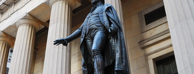 Federal Hall National Memorial is one of NYC Stay-cation.