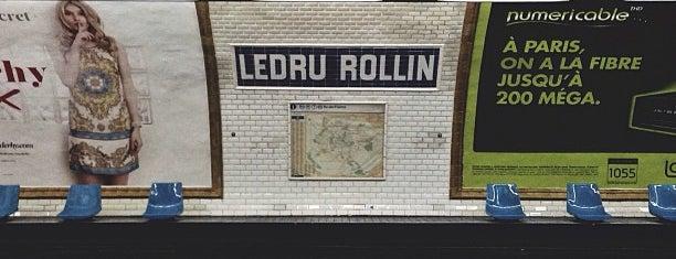 Métro Ledru-Rollin [8] is one of Métro de Paris.