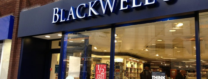 Blackwell's is one of Steampunk London.