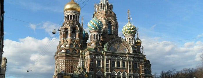 Church of the Savior-on-Blood is one of Санкт-Петербург.