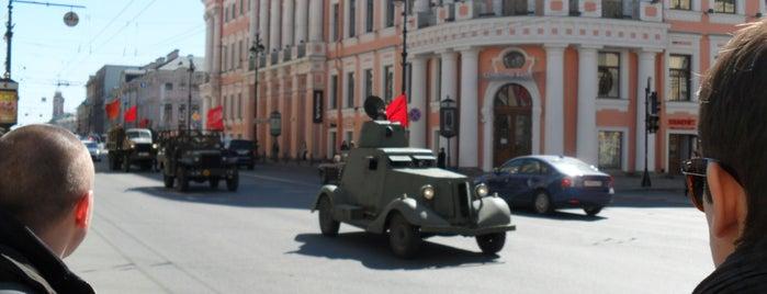 Nevsky Prospect is one of Санкт-Петербург.