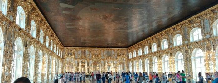Екатерининский дворец / The Catherine Palace is one of Санкт-Петербург.