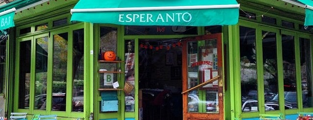 Esperanto is one of Be a Foodie!.