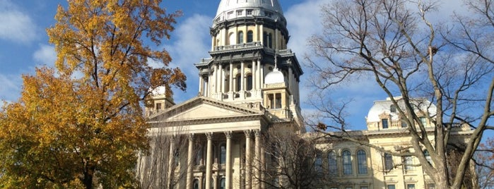 Illinois State Capitol is one of Springfield, Springfield!!.