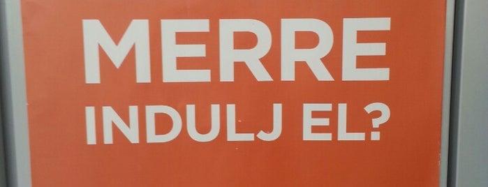 Atrium EuroCenter is one of Gabor's tips.