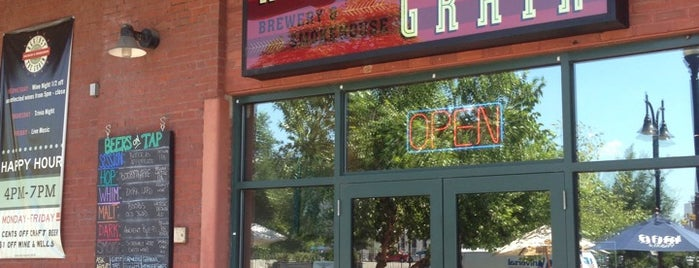 Against The Grain Brewery & Smokehouse is one of Bars.
