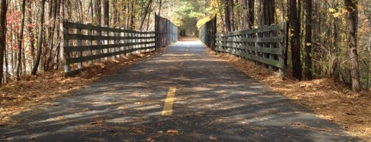 Silver Comet Trail is one of Guide to Atlanta's best spots.