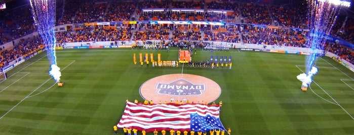 BBVA Compass Stadium is one of yeah, done that too!.