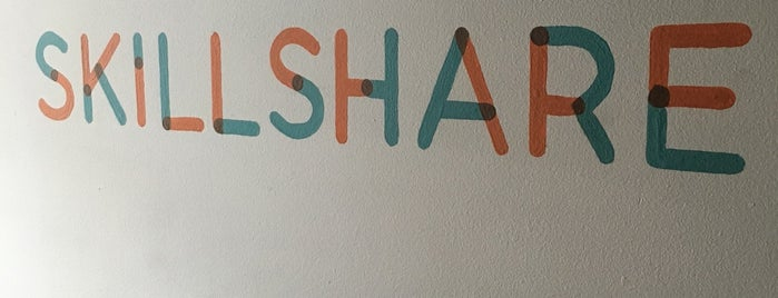 Skillshare HQ is one of Silicon Alley - Tech Startups.