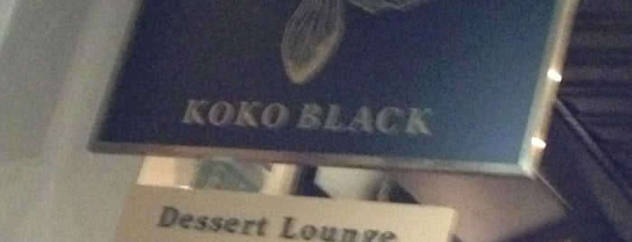 Koko Black is one of Been there.