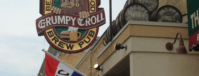 The Grumpy Troll Brew Pub and Pizzeria is one of Best Craft Beer Spots.