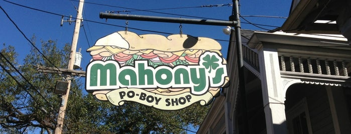 Mahony's Po-Boy Shop is one of Triple D Restaurants.