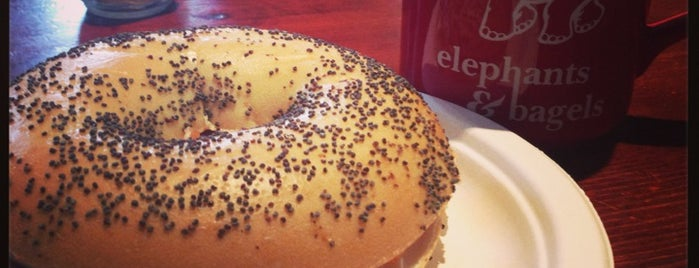 Elephants & Bagels is one of Gluten-Free Edinburgh.