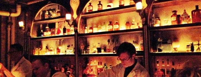 Apothéke is one of Where to go in NYC.