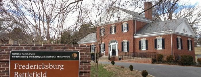 Fredericksburg and Spotsylvania National Military Park is one of National Parks.