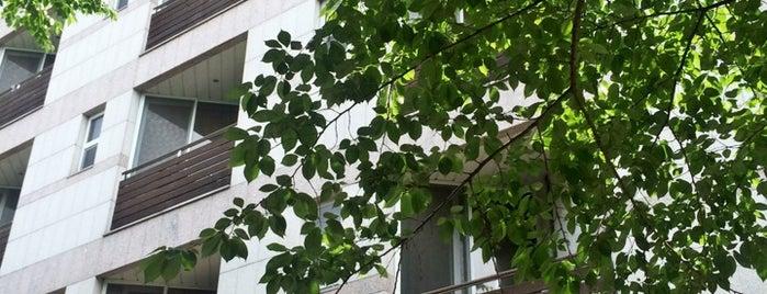 이화여자대학교 대학원기숙사 B동 (Graduate student dormitory B) is one of 이화여자대학교 Ewha Womans University.