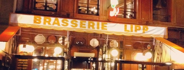 Brasserie Lipp is one of Three Jane's Guide to Paris.