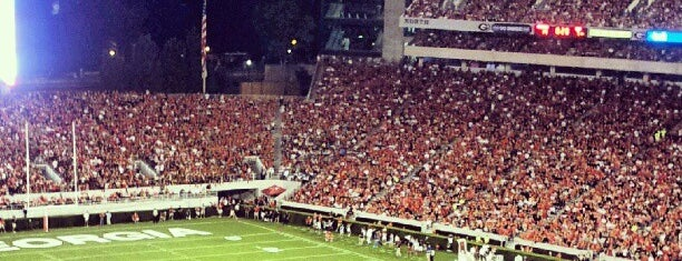 Sanford Stadium is one of ALL TIME FAVORITES.