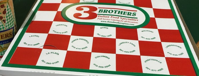 Three Brothers Pizza is one of Interesting Restaurants.