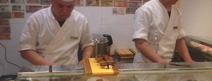 기꾸 菊 is one of Itaewon food.
